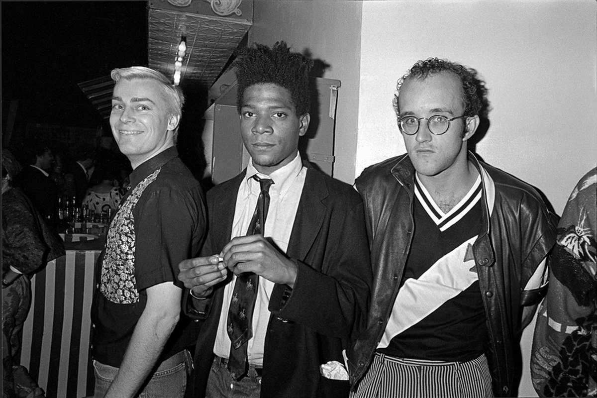 John-Sex-Jean-Michel-Basquiat-and-Keith-Haring-at-AREA-Club