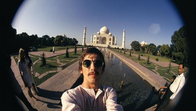 GeorgeHarrisonsfisheyeself-portraitsinIndia19661